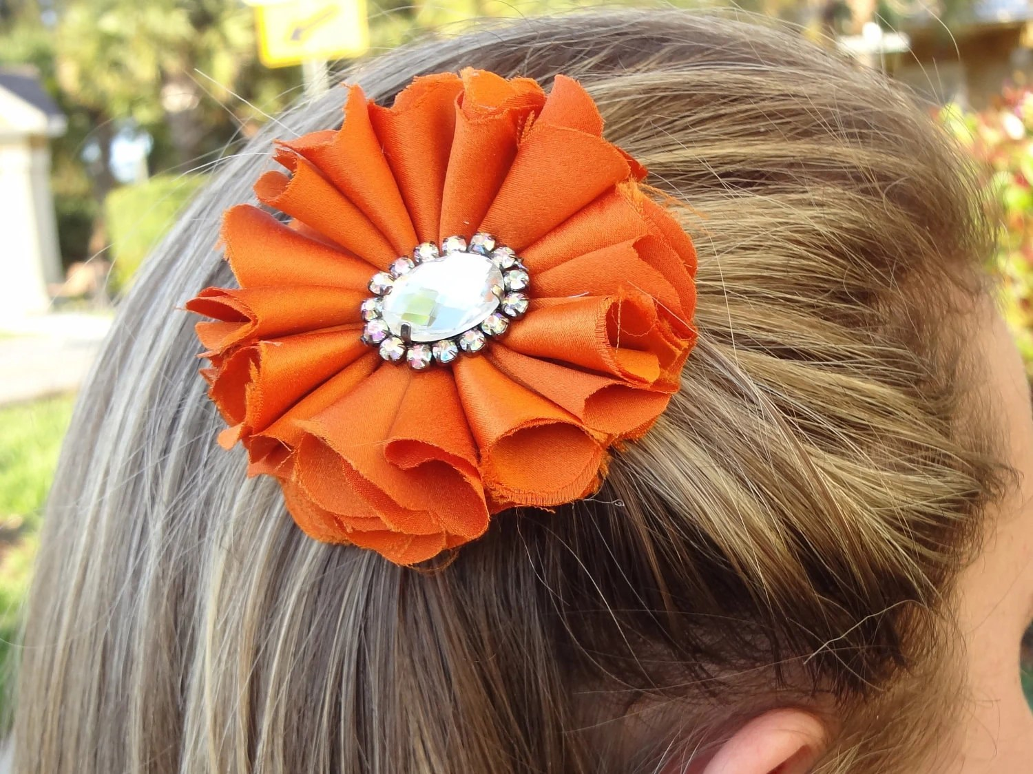 5 in 1) Shabby Orange Flower - ShabbyShine