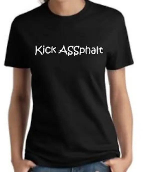 Kisk ASSphalt women's running shirt - WulfsExpressions