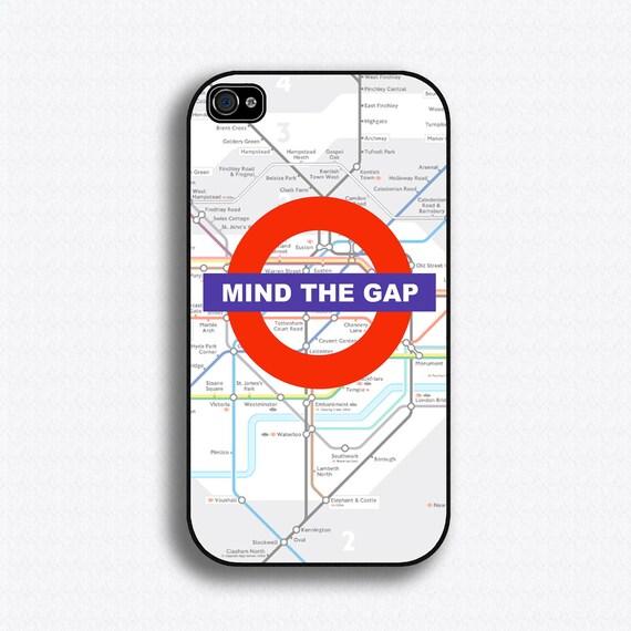 Mind the Gap - London Tube - London Olympics - iPhone 4 Case, iPhone 4s Case, iPhone 4 Hard Case, iPhone Case