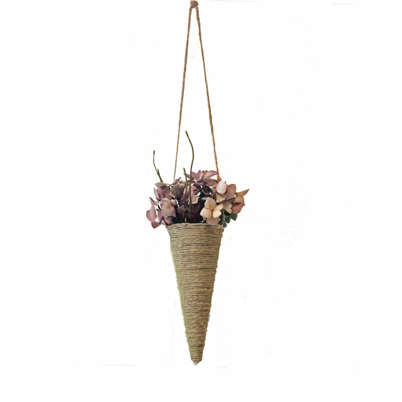 Window bouquets Jute String Home Decor Window Floral Arrangement Wedding - FoundationCreations