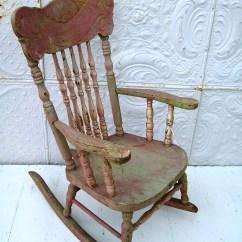 Distressed Adirondack Chairs Ozark Folding Chair Lace Crazy: Vintage Rocking - My Next Redo...
