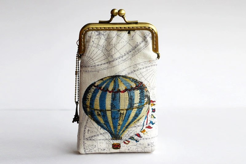 Hot Air Balloon Iphone case  iPhone sleeve( iPhone 5, Samsung Galaxy s3 Size available)