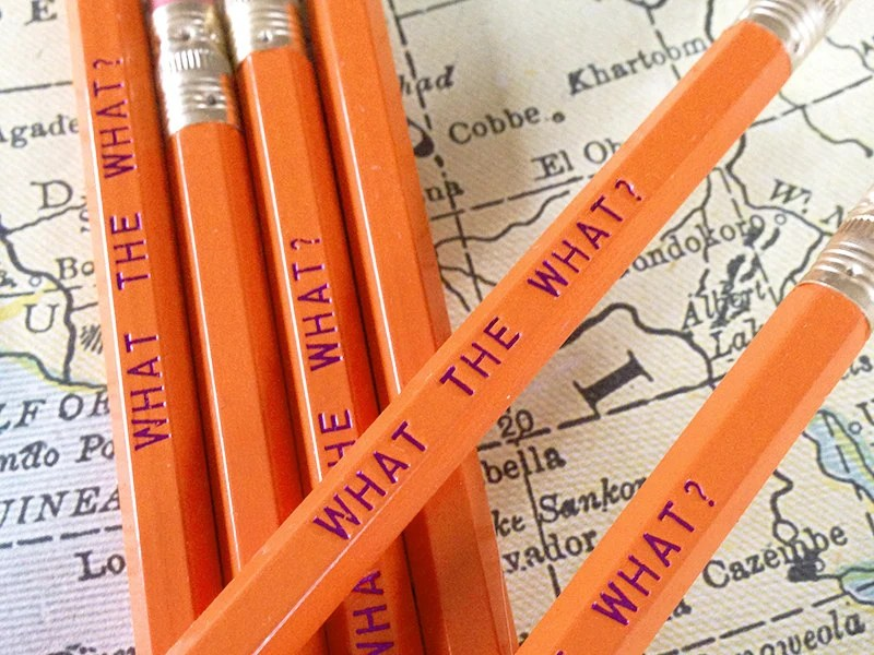 What the What Pencil 6 Pack