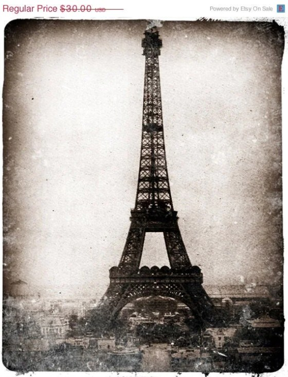 Vintage French Photograph