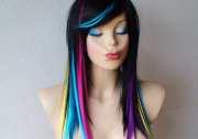 items similar rainbow ombre black