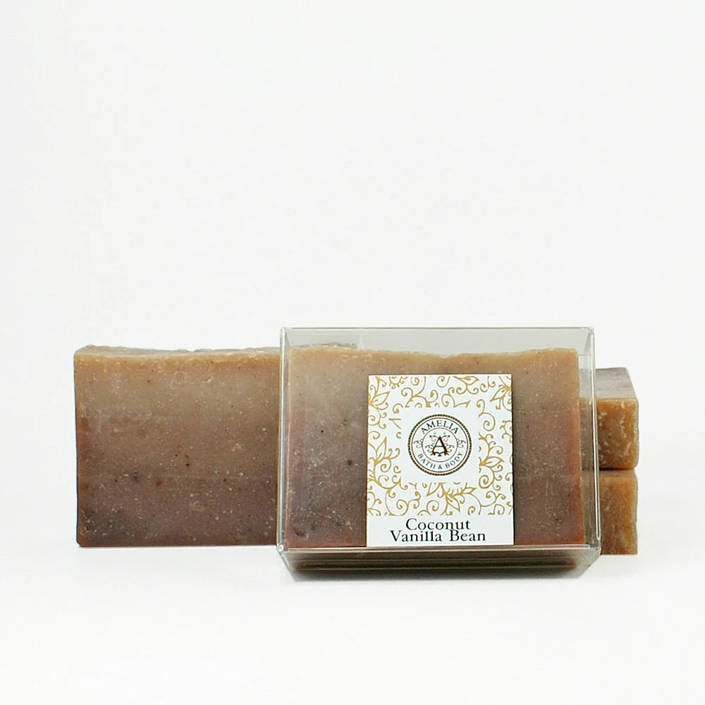 Coconut Vanilla Bean Soap - Vegan Phthalate Free Soap