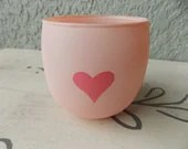 pink love you - trinket jar - katbliss1