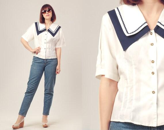 camisa marinera vintage