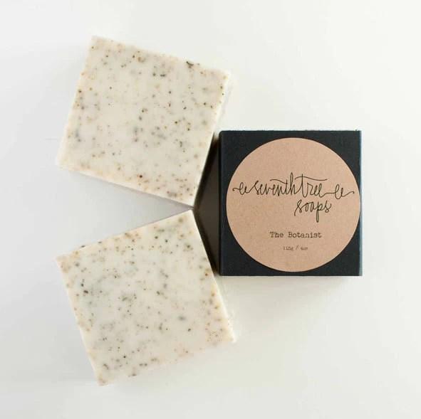 THE BOTANIST - Nettle & Lemongrass Soap - Natural, Handmade, Cold Processed, Vegan - seventhtreesoaps