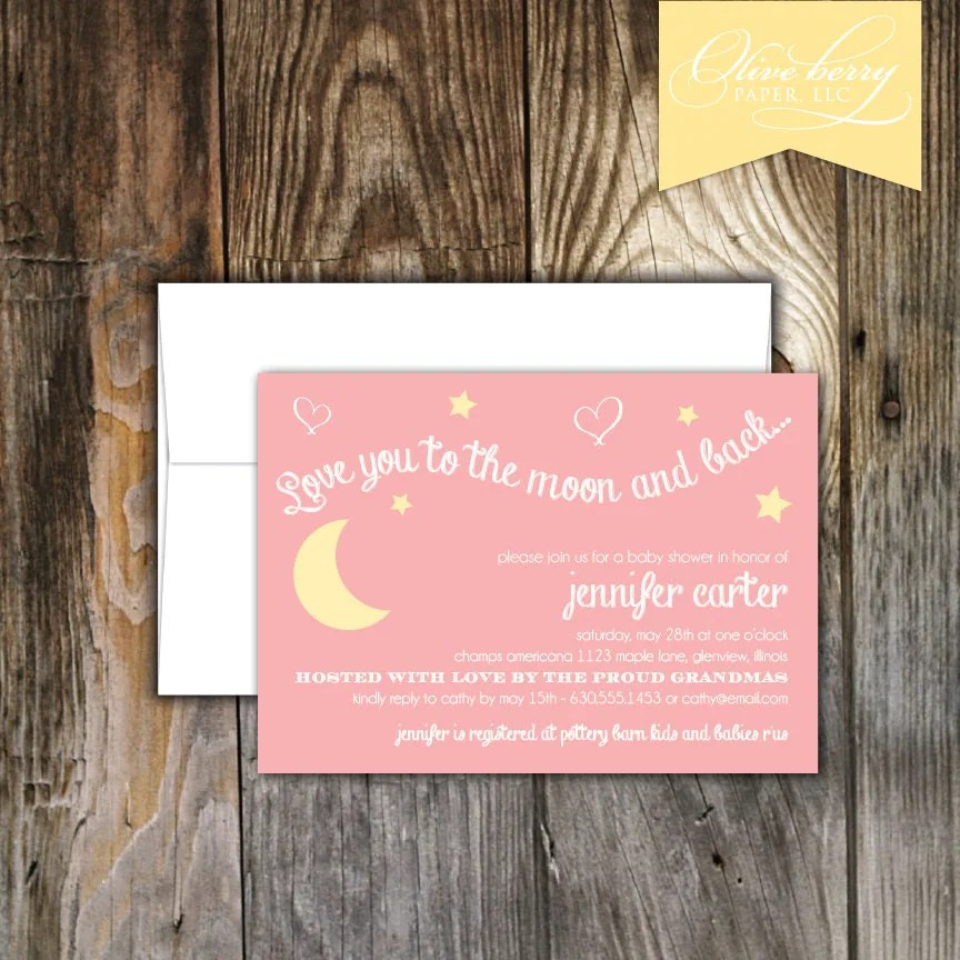 gender neutral baby shower invitations | Olive Berry Paper, LLC