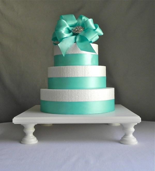 Cake Stand 14 Cupcake Square Pedestal Eisabelladesign