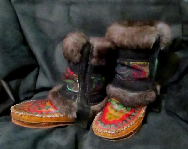 Custom Fitted Handcrafted Tommo Kepetaa Nampeh (winter boots - tall) Men, Women