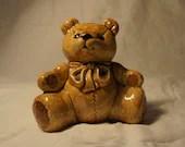 SALE Teddy Bear Piggy Bank