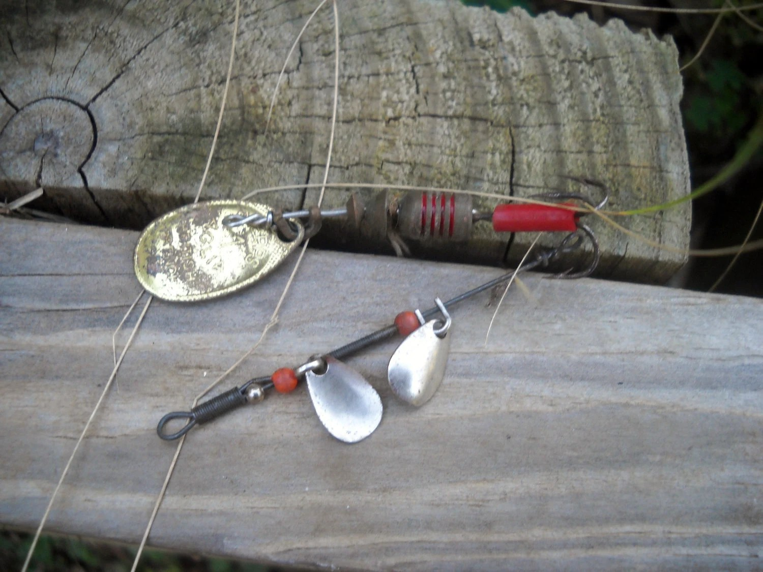 Vintage Fishing Tackle - AuntMegheysCottage