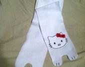 Fleece Hello Kitty Scarf
