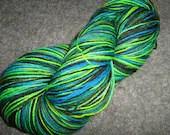 Mistofelles- superwash Sock Yarn- Merino/ Nylon- Wood Nymph- 100g
