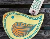 penelope paisleybird bird plush. - exit343design