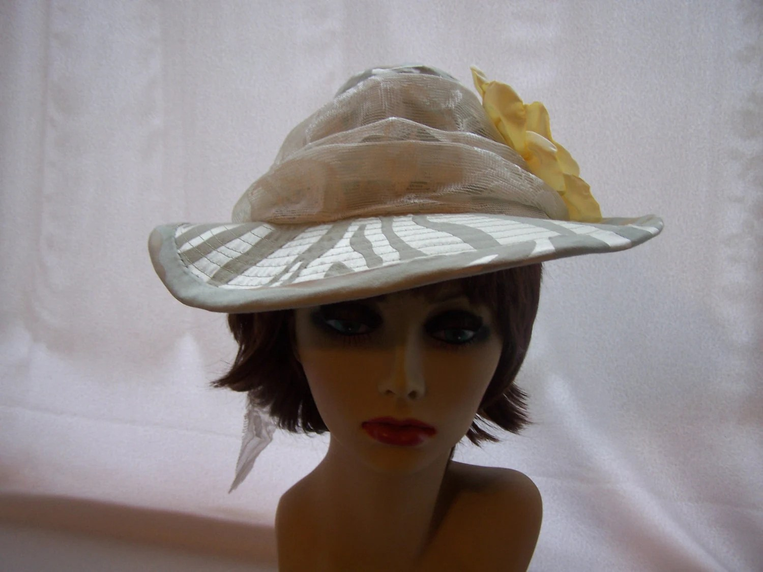 Women's Mint Green Spring and Summer Sun Hat