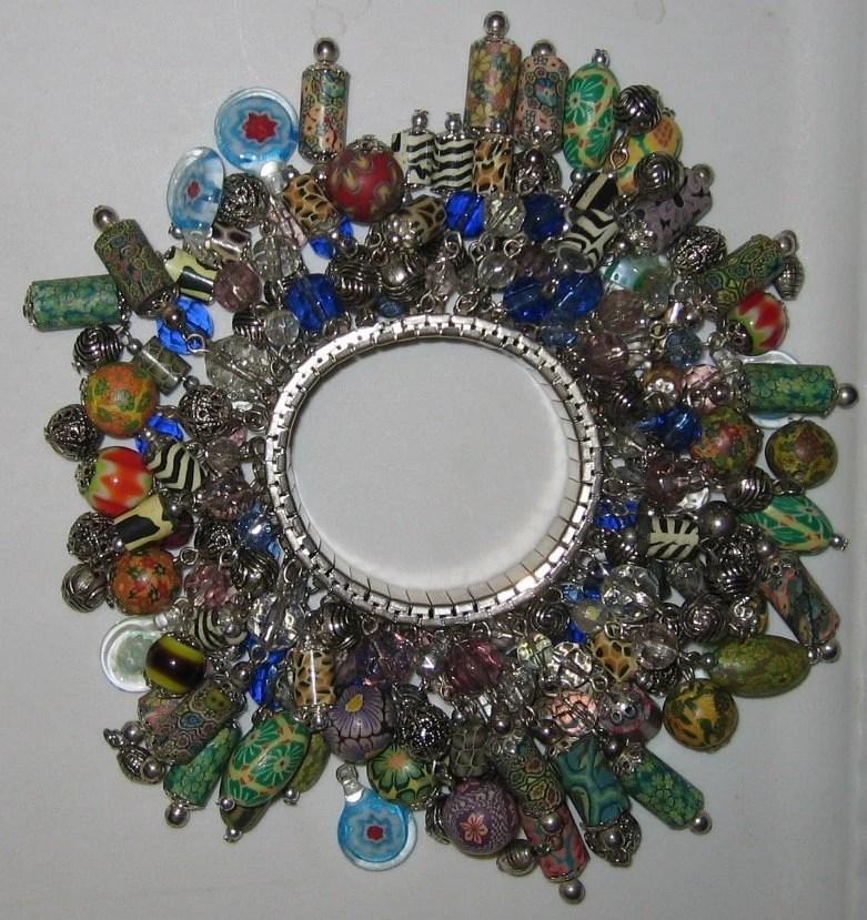 Gypsy Bohemian Style Beaded Bracelet Vintage