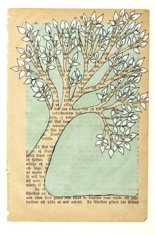 Inspiration Ideas For Recycling Vintage Book Pages Inspiration Board
