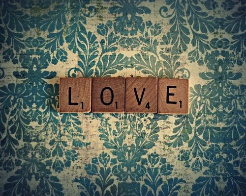 It's Spelled Love 8x10 Fine Art Photography Print - Ready To Ship
