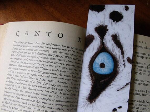 White Tiger Bookmark