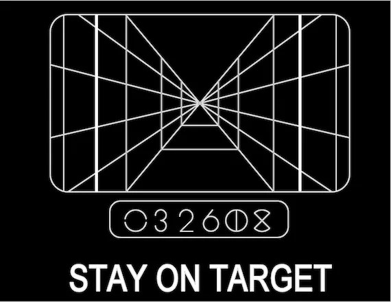 Star Wars Stay On Target