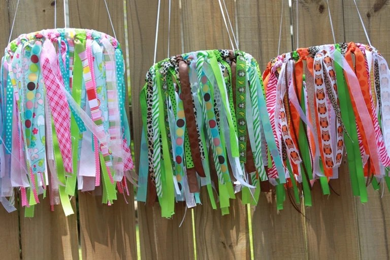 DESIGN YOUR OWN Ribbon Crib Mobile...Perfect for Nurseries, Showers, Weddings, Parties, Etc.