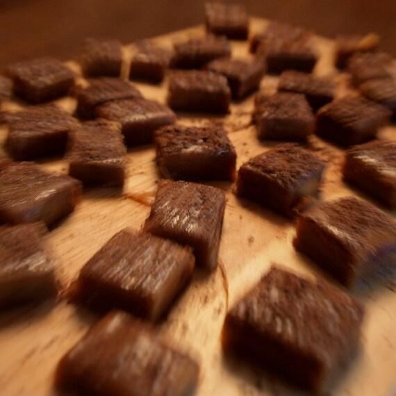 Maple Bourbon Salted Caramels-- 1 lb