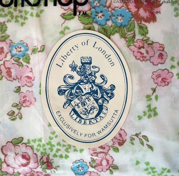Liberty of London for Wamsutta Fitted Double Bed Sheet