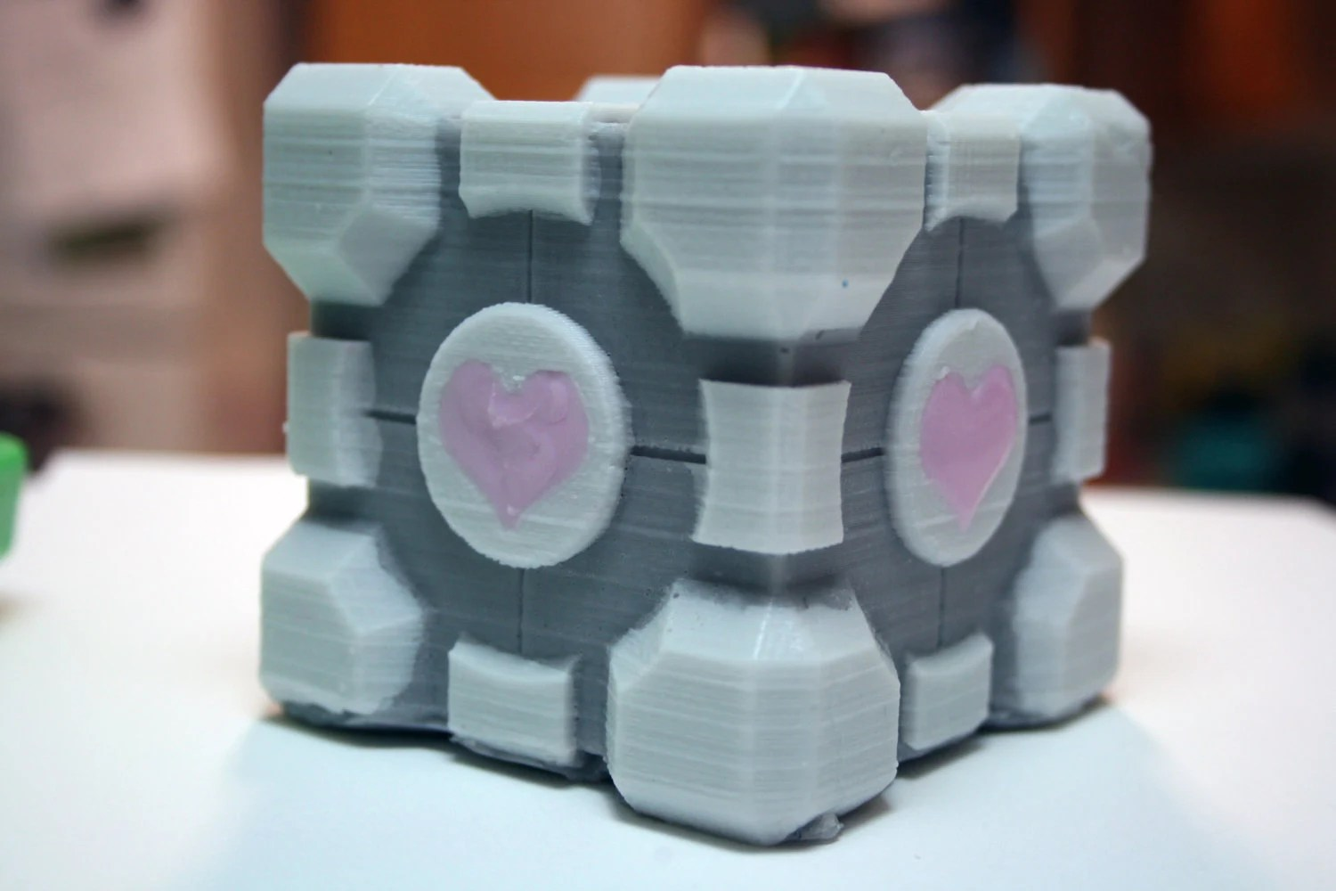 Companion Cube Soap NEW Version, Mountain Dew-Type Scent by Gamer and Geek Soap Inventor DigitalSoap