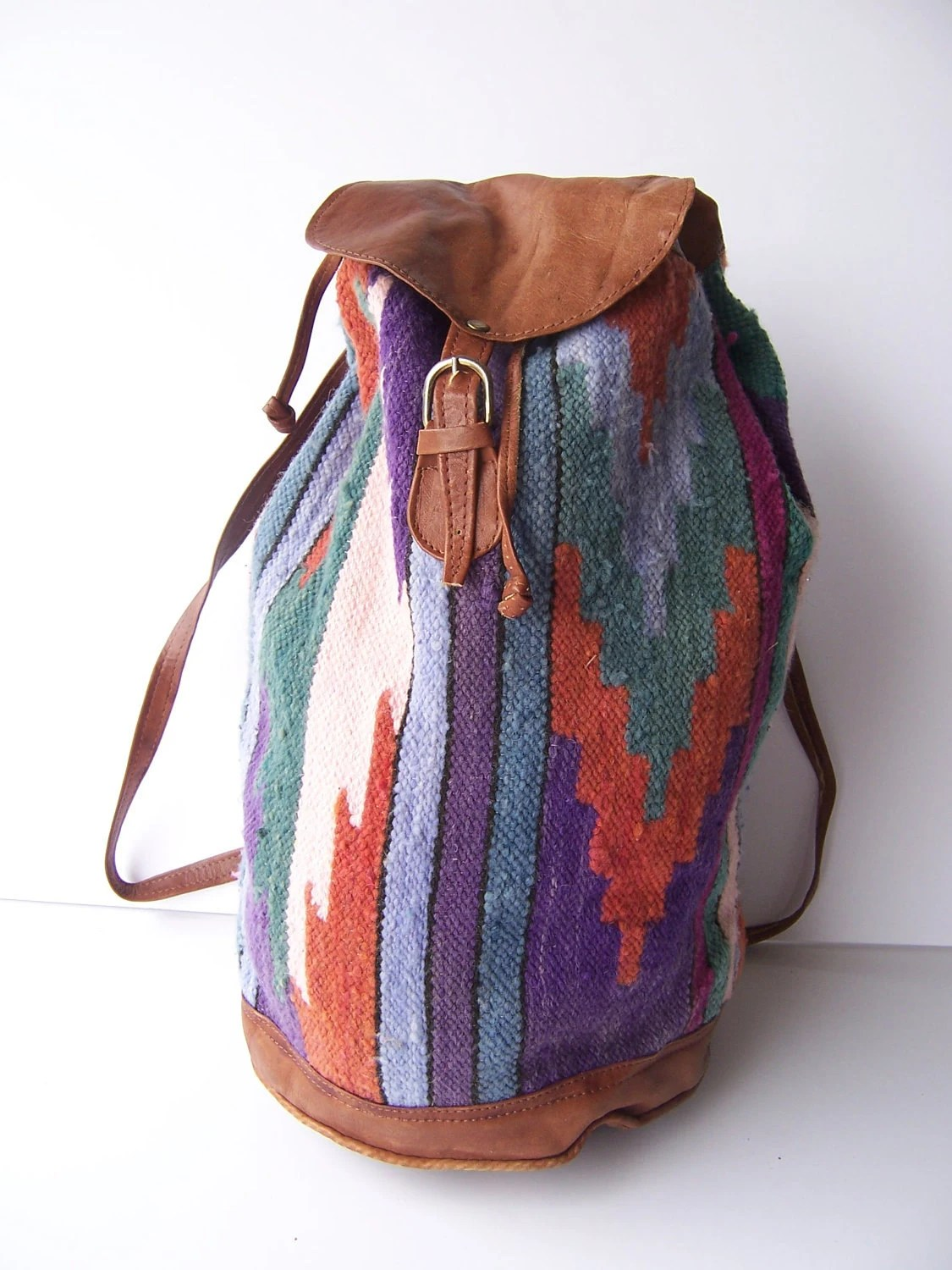 Vintage Southwestern Blanket Backpack