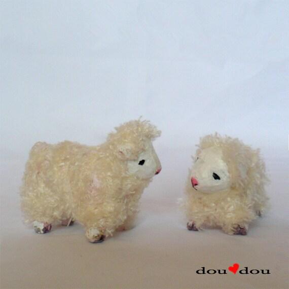 Miniature Animals - Baby Sheep