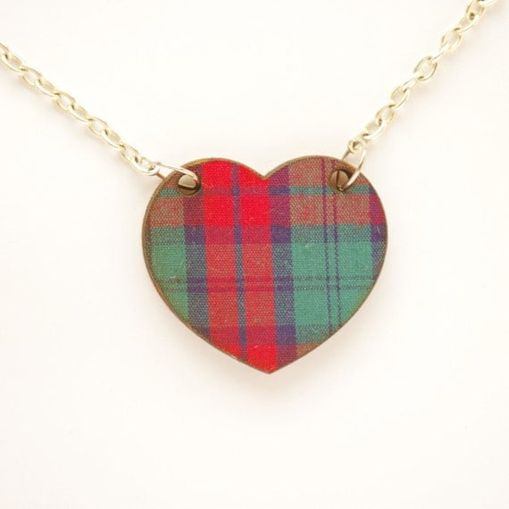 Plaid Heart