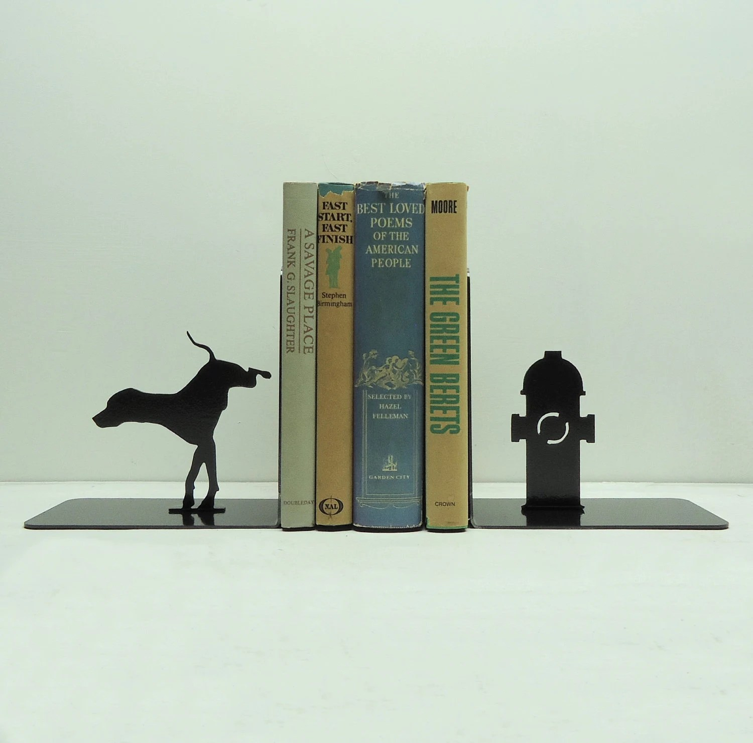 Fire Hydrant Bookends - Free USA Shipping