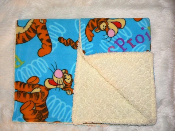 Mega Ultra Cozy Tigger Fleece Blanket