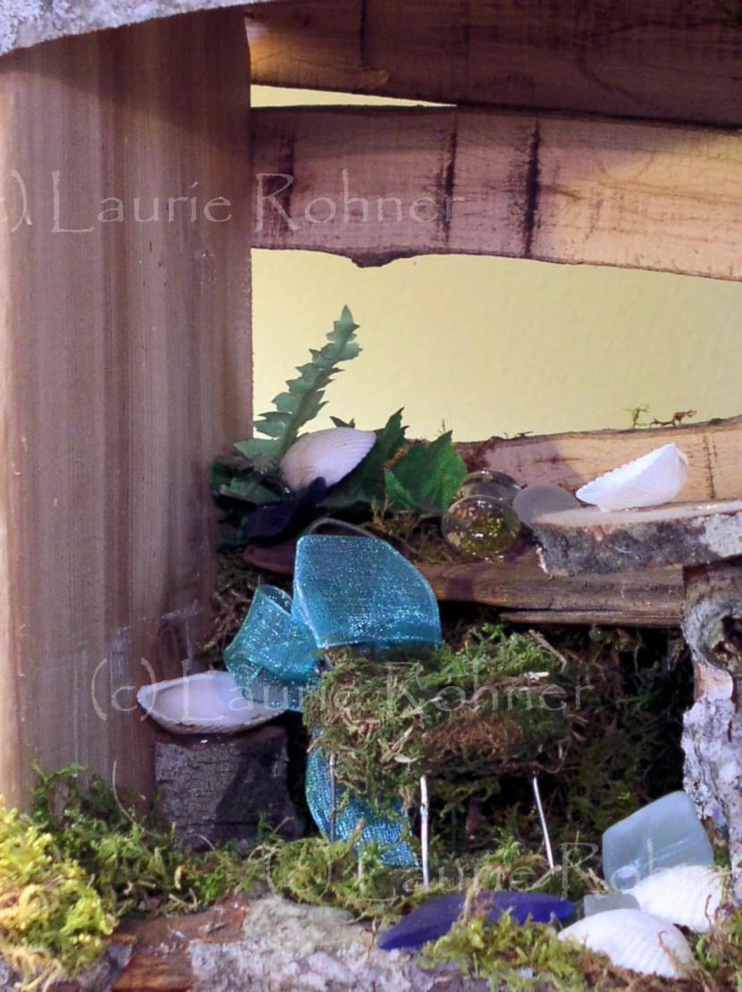 Woodland Fairy House Cafe Goes to the Beach