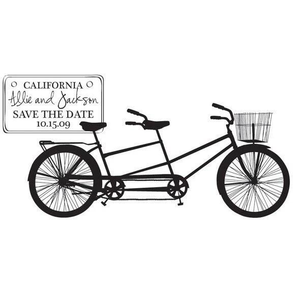 Lolli's blog: DIY Tandem Bicycle Matchbook Style Wedding