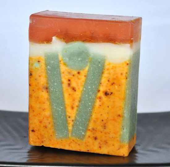 how to make a bar of soap from scraps