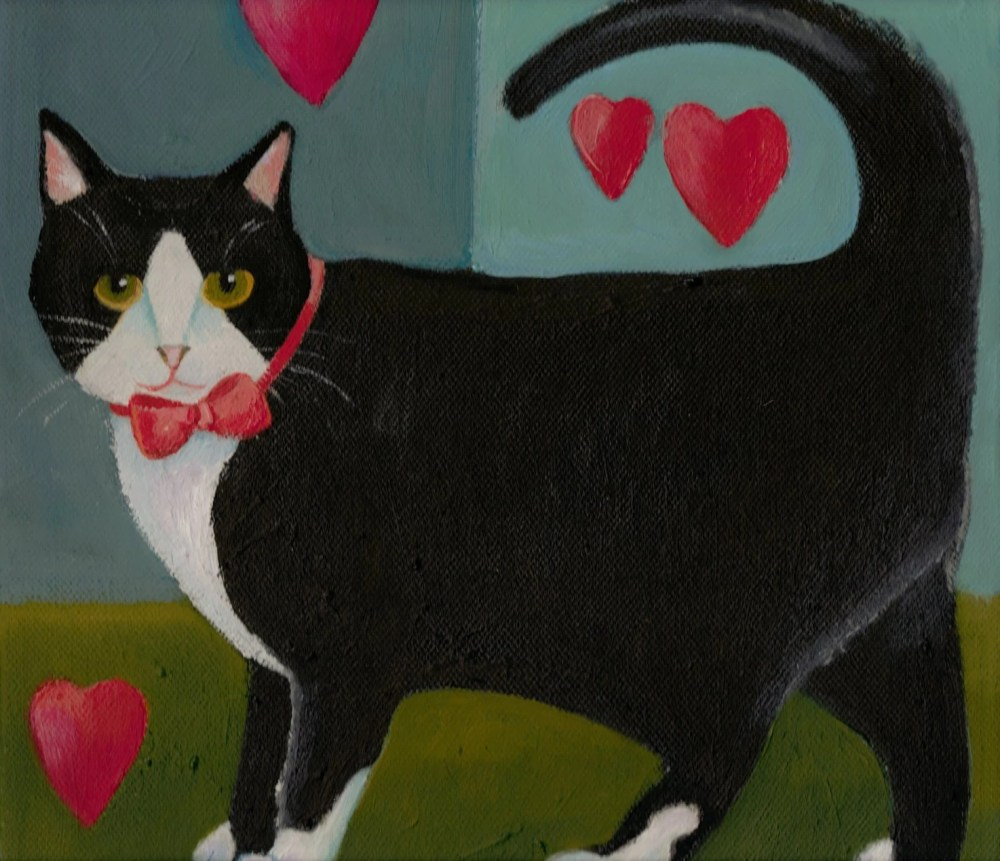 Special Guest Post: Black Cat Valentine's Day - Adopt! (6/6)