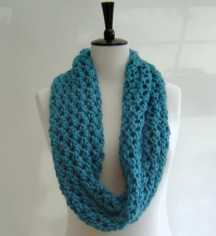 EASY KNIT SCARF PATTERNS