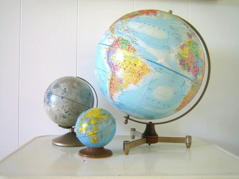 Mid-Century Replogle Globe - 12 inch