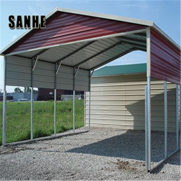 Design Regular Steel Roof Car Cover Shed Manufacturer In China By
