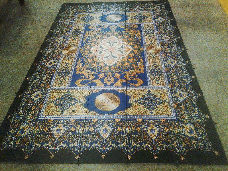 printed porcelain floor tiles
