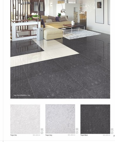 4x2 double charged vitrified floor tiles