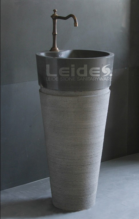 Buy Cone pedestal sink free standing basin LDF043 from