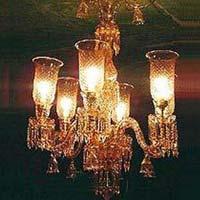 Antique Glass Chandeliers
