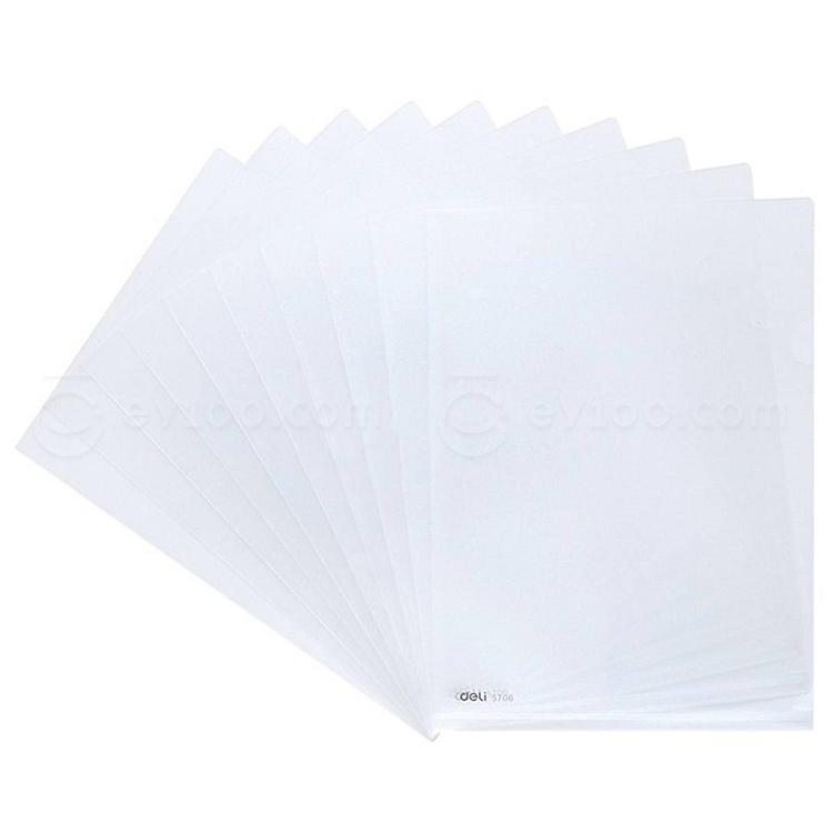 kitchen chair slipcovers price pfister treviso faucet 得力 文件保护套 (透明) a4 5706|文件保护套|文件夹类|办公文具|办公用品网 | 易优百