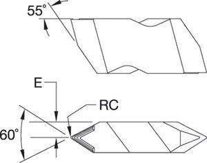 NT3RK TN6025 Top Notch WIDIA™ TOP THREAD™ Carbide