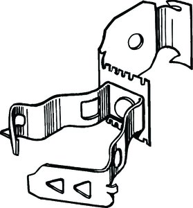emt metal stud clamps